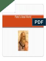 Platos Ideal World