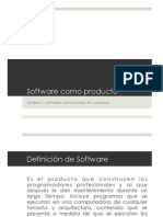 Software as a Product