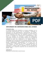 Diplomado en Contrataciones Del Estado