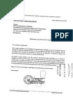 OFICIO N°510/2013-2014/CFFSB/CR DESPACHO CONGRESISTA SARMIENTO