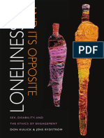 Loneliness and Its Opposite by Don Kulick  and  Jens Rydström