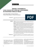 Saneamiento Ambiental y Mortalidad de Niños 5 Años - Brasil