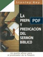 La Preparacion y Predicacion de - Jerry Stanley Key
