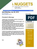 NUPA Nuggets January 2015