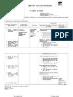 Plan de Bloque Sexto 2014-2015