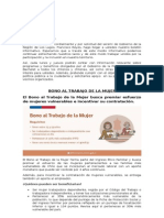 Boletín Informativo 26 de Enero 2015 Ministerio de Desarrollo Social
