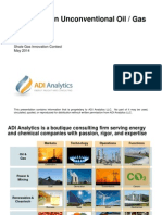 ADI Analytics - Innovation in Unconventional Oil & Gas
