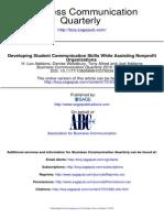 Business Communication Quarterly
