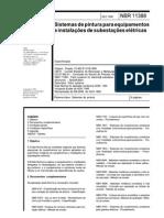 NBR11388 -1990- Sistemas de Pintura Para Equipamentos e Instalações de Subestações Elétricas