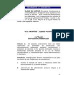 Reglamento de La Ley de Puertos Mexico