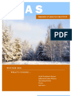 ALAS Newsletter Winter 2010