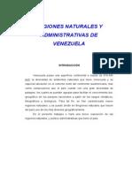 Regiones Naturales y Administrativas de Venezuela1