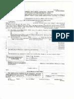 Application Form for Name Change