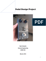Fuzz Pedal Design Project