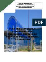 Plan de Emergencia y Contigencia Del Terminal de Pasajero
