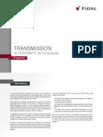 Enquête de Fidal sur la transmission et la pérennité de l'entreprise