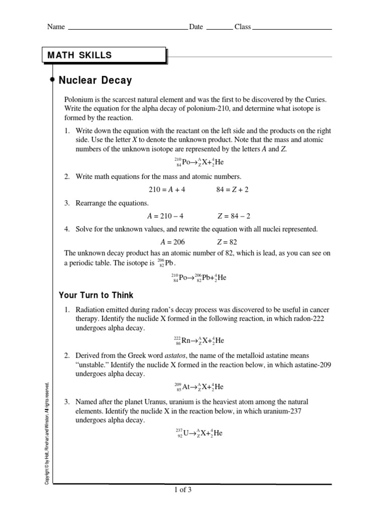 Nuclear decay ws radioactive decay isotope gamestrikefo Image collections
