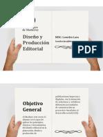 Diseño y producción editorial 2015