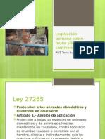 Legislación Peruana Sobre Fauna Silvestre en Cautiverio