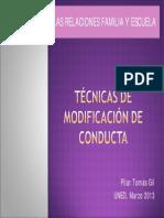 Tecnica de Modificacion de Conducta