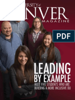 Winter 2015 University of Denver Magazine