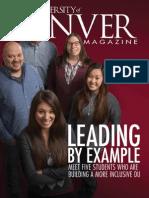 Winter 2015 University of Denver Magazine