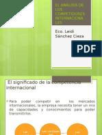 EL ANÁLISIS DE LOS COMPETIDORES INTERNACIONALES.pptx