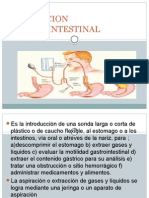 Intubacion Gastrointestinal