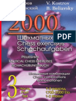 2000 Tactical Chess Exercises Vol 3_Kostrov, Beliavsky