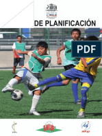Manual Libro de Planificacion Escuela de Futbol Chile