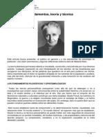Melanie Klein Fundamentos Teoria y Tecnica