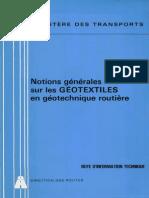 Les Géotextiles en Géotechnique Routière(Pontsetroutes.blogspot.com)