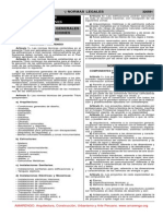 Norma de Edificaciones 2006 -3