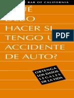 Accident Spanish