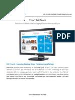 Evc-Touch Datasheet Vytru