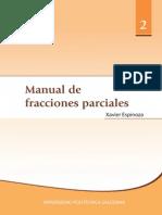 Manual de Fracciones Parciales