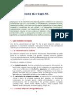 Tema 4 Cambios Sociales en El Siglo XIX