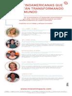 Emprendedoras sociales de América Latina