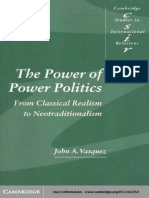 (Cambridge Studies in International Relations) John A. Vasquez-The Power of Power Politics. From Classical Realism to Neotraditionalism-Cambridge University Press (1999).pdf
