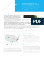 Google Fiber One Pager Jan 2015