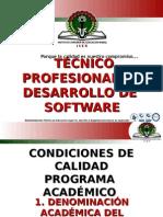 Presentación Programa técnico