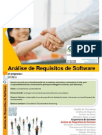 Analise de Requisito de Software