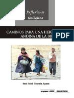ENSAYO Hermeneutica Andina