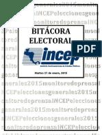 Bitácora Electoral