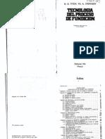 Tecnología del Proceso de Fundición