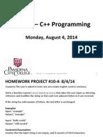 C++ Problem Set