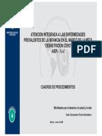 """Atención integrada a las enfermedades prevalentes de la infancia en el marco de la meta """"DESNUTRICION CERO"""" - AIEPI-Nut"""