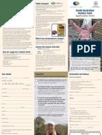 Seniors Card Application Form October 2012