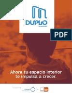 Brochure Duplo