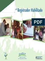 Manual Registradores Renaf